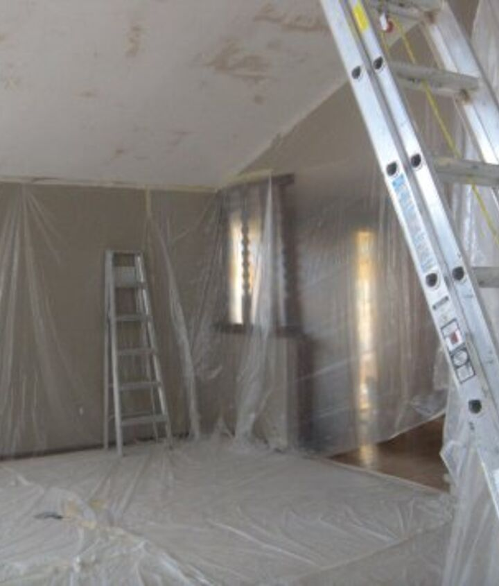 Is there anything nastier than an acoustic popcorn ceiling treatment? It collects dust. Spiders expertly build networks of cobwebs across it, and the worst part? You can't take a broom and wipe off the cobwebs without losing part of your ceiling!