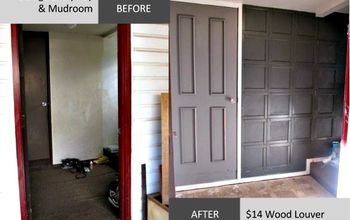 wood louver wainscoting, diy, foyer, paint colors, wall decor, woodworking projects