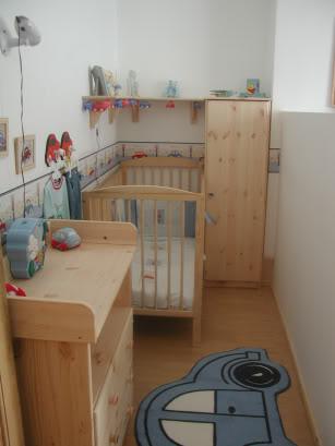 Still enough room for a small nursery area!