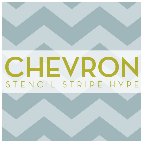 are you feeling the chevron stripe hype, painting