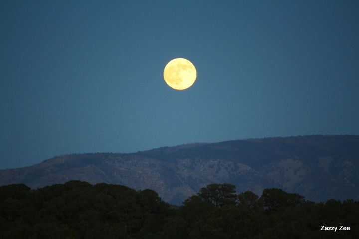 Any one hearing Dean Martin singing? Or maybe get a craving for pizza? The moon like a big pizza pie!