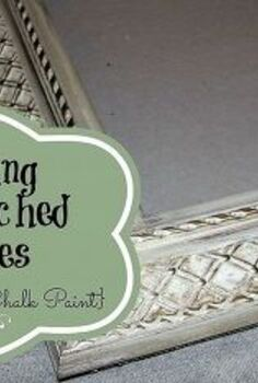 painting mismatched picture frames with annie sloan chalk paint, chalk paint, home decor, painting, Tell us about this photo
