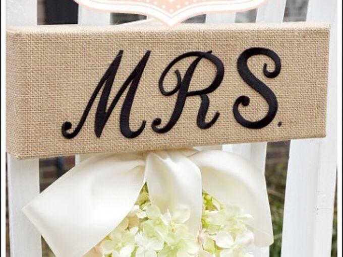 wedding chair decorations, crafts