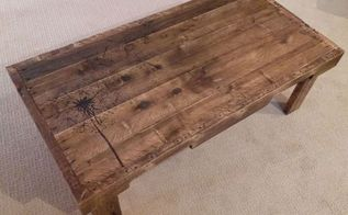 recycled and redeemed pallet wood table, painted furniture, pallet, repurposing upcycling, woodworking projects