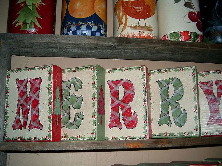 Christmas Blocks by GranArt