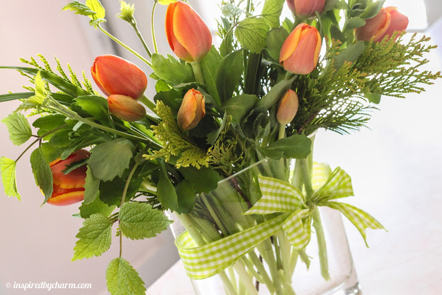 Bouquets On A Budget Create Beautiful Flower Arrangements For 5 And Greens From Crafts