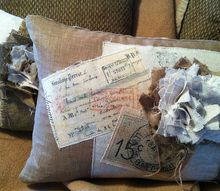 shabby french pillows, crafts, home decor, Transfers from The Graphics Fairy