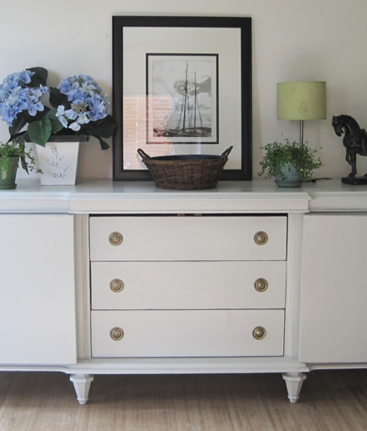 painted sideboard, painted furniture