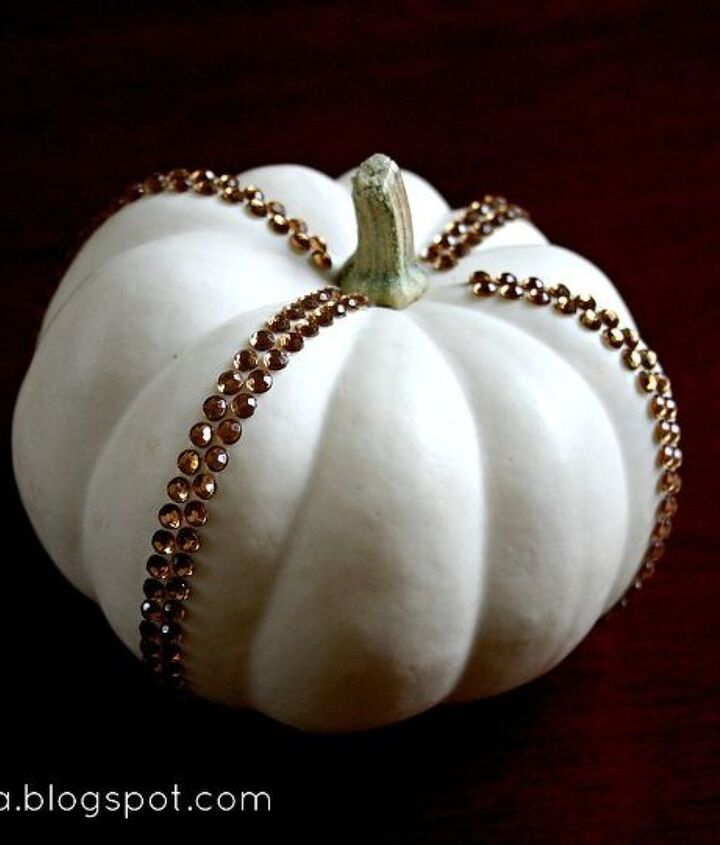 add a little bling to your fall decorating, crafts, seasonal holiday decor