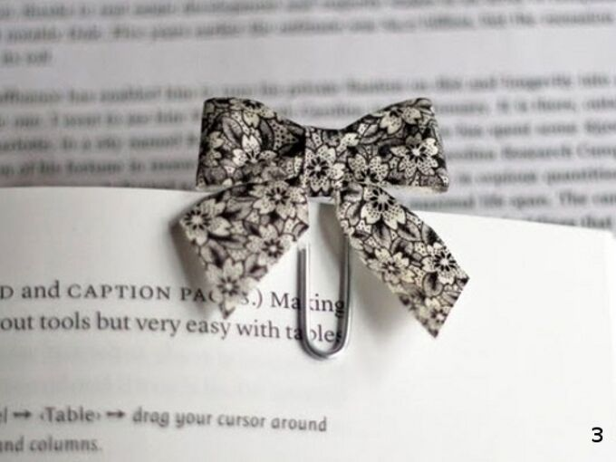 easy diy ribbon bookmarks, crafts, Attach the paper clip and you are done
