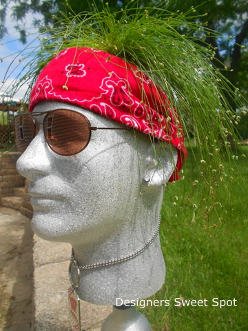 A few accessories like a bandana, an earing, shades, and a necklace made Butch come to life.