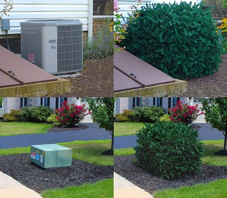 Hide Your Problem Areas: The backyard is the place to stash extra stuff like garden hoses and AC units. But don't let those eye-sores stress you out! Just cover them up with hedges and storage bins that double as outdoor benches.