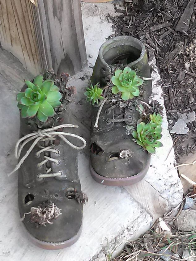 Easy enough to do with an old pair of boots :)