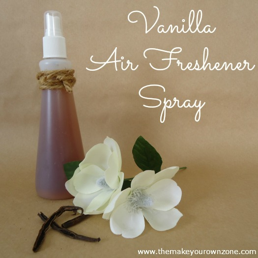 how to make a vanilla air freshener spray, cleaning tips