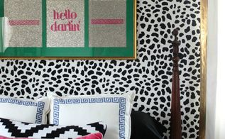 we re wild about this guest bedroom makeover, bedroom ideas, home decor, painting, wall decor