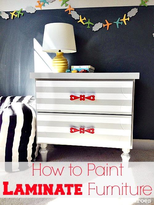painting laminate furnitureHow to Spray Paint Laminate Furniture  Hometalk
