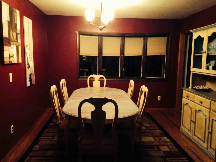 q curtain ideas help, dining room ideas, home decor, reupholster, window treatments, Dining room