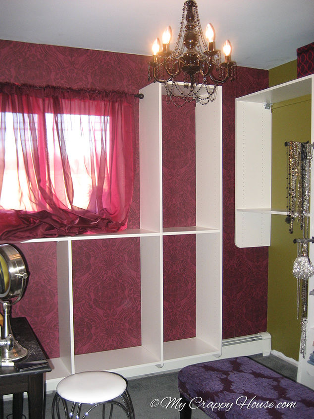 Spare bedroom turned dressing room hometalk spare bedroom turned dressing room bedroom ideas closet home decor storage ideas solutioingenieria Images