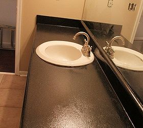 Update An Old Laminate Countertop, Countertops, AFTER Looking Much More  Stylish
