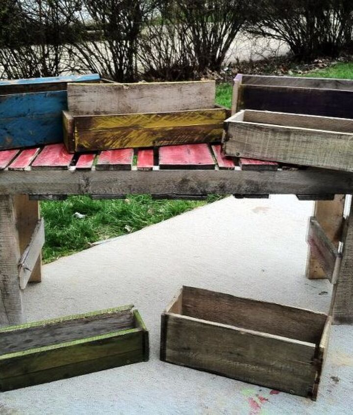 Some items that I'm gonna be selling..planter boxes