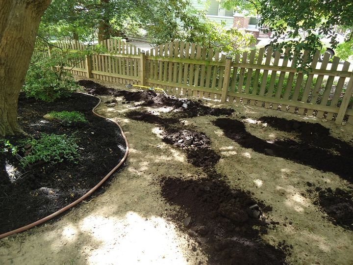 Soil Conditioner on the Front Yard.