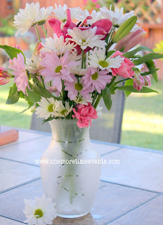 mother s day diy frosted vase and how to arrange store bought flowers, crafts, home decor