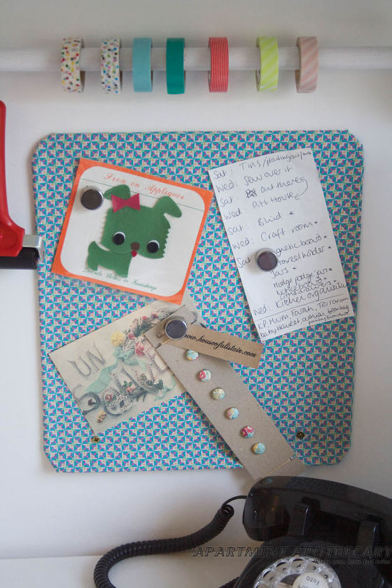 Find out how to make this magnetic noticeboard...