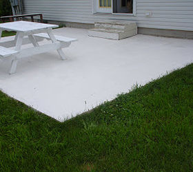How To Paint Patio Tiles, Concrete Masonry, Painting, Patio, Porches, After
