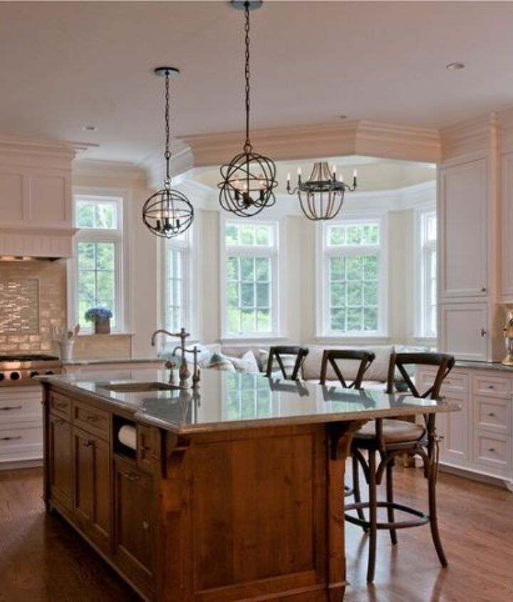 Custom Kitchen Island handcrafted by Titus Built, LLC