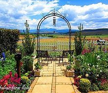 underberg open gardens part2, gardening, Stunning garden with views up the valley towards the Drakensberg Mountains