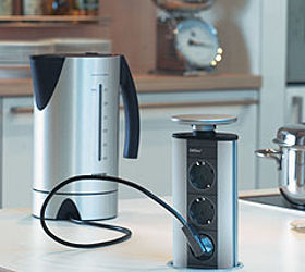 Merveilleux Q Which Outlet Would You Prefer In A Kitchen Island, Electrical, Kitchen  Design,. Retractable Or Pop Up ...