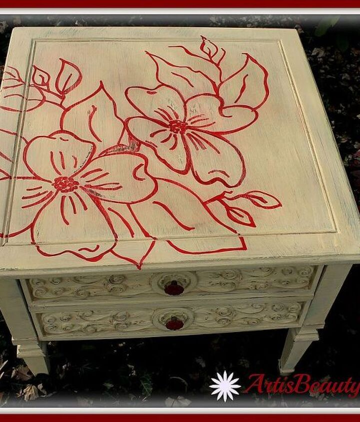 come check out the latest dogwood table makeover from dilapidated to beautiful, home decor, painted furniture