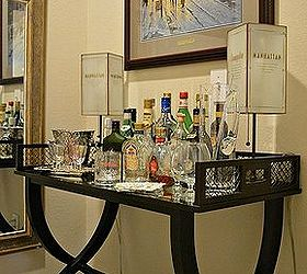 Decorate You Use Your Alcohol Bottles To Decorate Bar Cart, Home Decor, I  Like