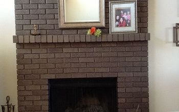 Painting My Fireplace