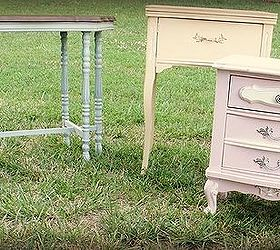 hand painted furniture chalk paint painted furniture Trio of pastel tables including a & Hand-painted furniture | Hometalk