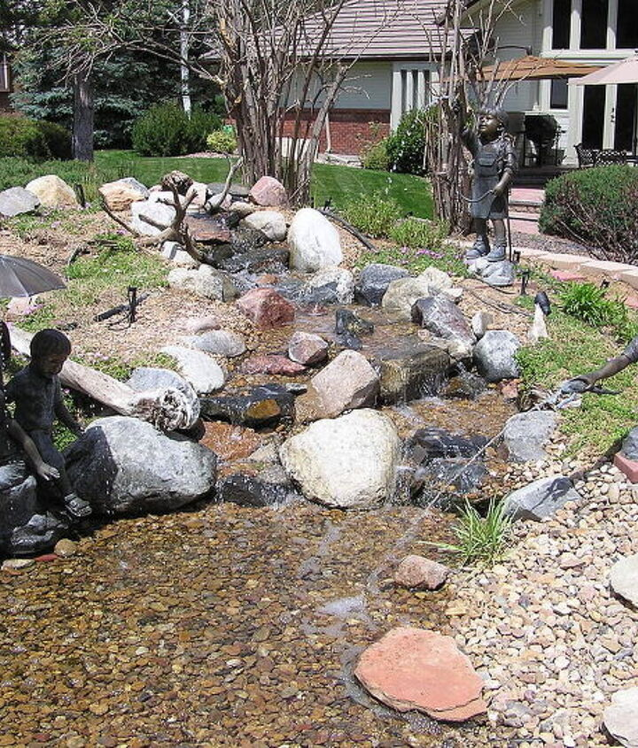 The new pondless up and running!