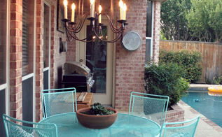 painted patio furniture, outdoor furniture, outdoor living, painted furniture