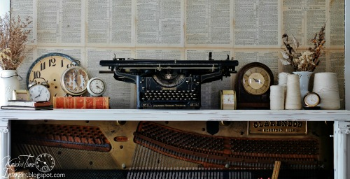 turn an antique piano into an amazing desk, home decor, painted furniture,  repurposing - Turn An Antique Piano Into An Amazing DESK! Hometalk