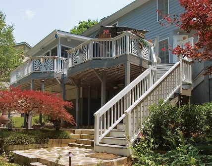 how to winterize your deck, decks, home maintenance repairs, This is an AK deck in Kennesaw GA