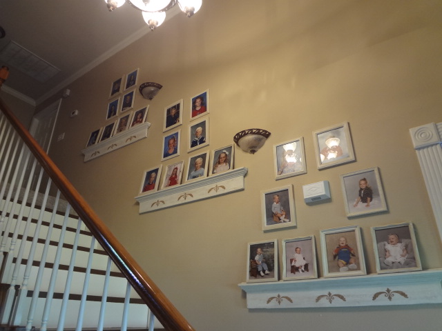 what to do with all those baby school pictures, home decor