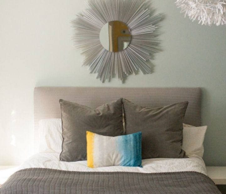 DIY Upcycled Sunburst Mirror