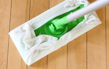 Reusable Swiffer Wet Wipes Made From Old T-Shirts