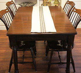 Gel Stain Redo Diy And Cheap, Dining Room Ideas, Painted Furniture, The  Runner
