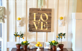 5 inspiring diy projects, crafts, home decor, How to Make an Easy Pallet Sign step by step tutorial via Home Stories A Z