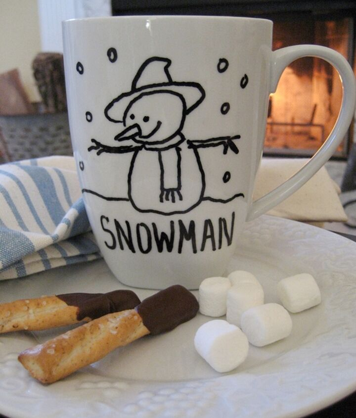 It's fun and easy to create your own special mugs!