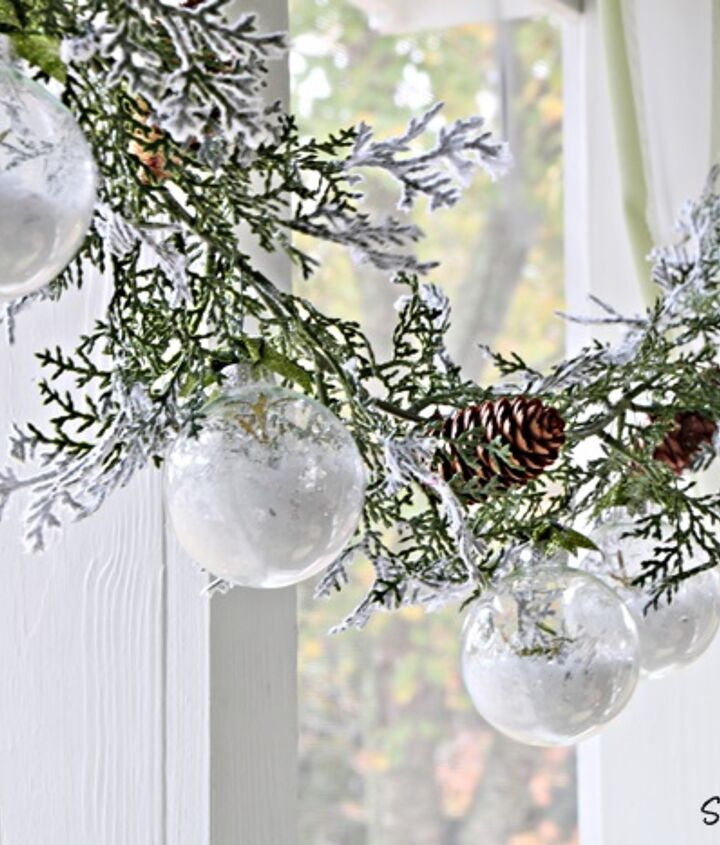Hang them on a garland.