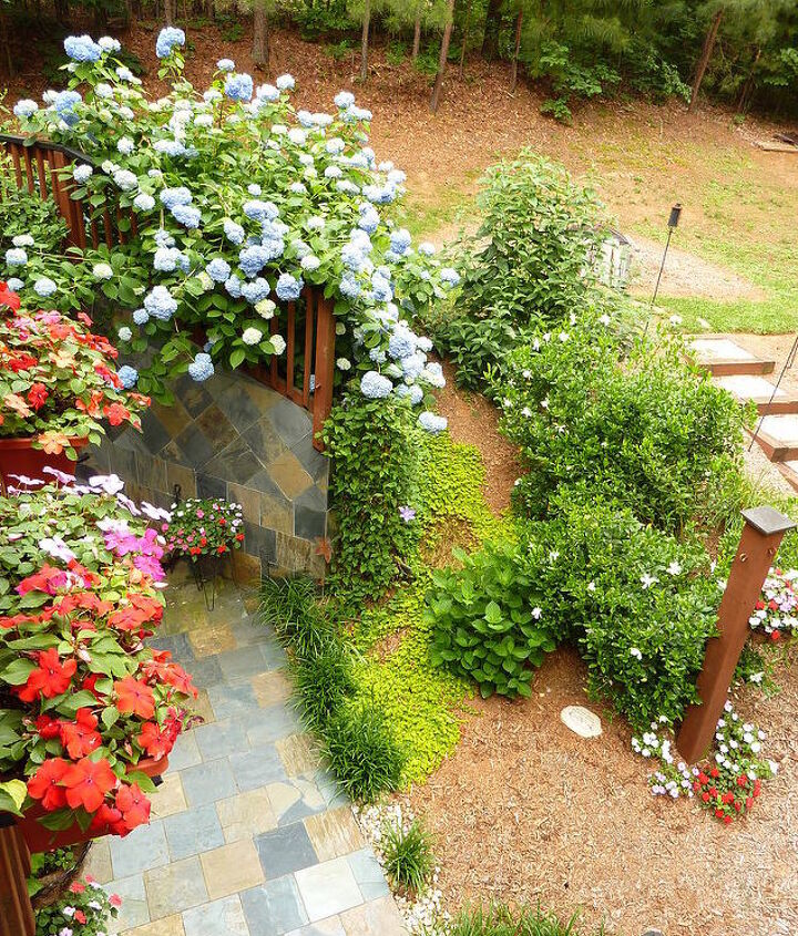 our memory garden my husband s mother was a wonderful gardener and had the greenest, gardening