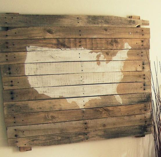 DIY Pallet Wall Art