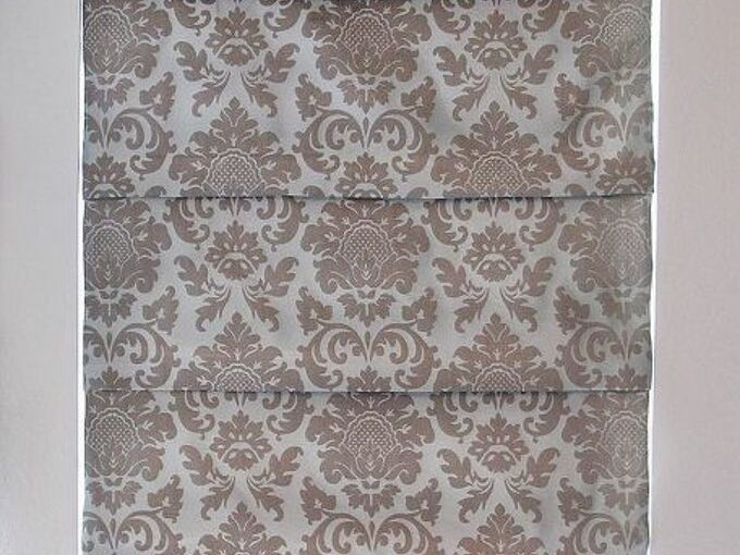 recovering roman shades no sew of course, diy, home decor, how to, reupholster, window treatments, windows, That s it Sit back and marvel at your work