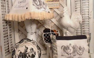 bringing country french style to your home with upcycled finds, crafts, home decor, painted furniture, repurposing upcycling, Handmade and Upcycled French Country Decor